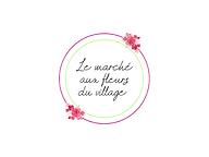 Création de logo pour Le Marché aux fleurs du Village