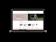 Création de site web avec boutique en ligne pour Boutique Pirouette