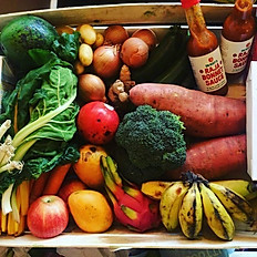 Fresh fruit and veg hamper