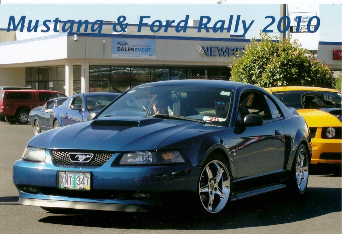 2010 Mustang & Ford Rally