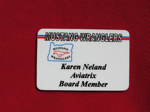 Name Badge (at checkout, add name to note)