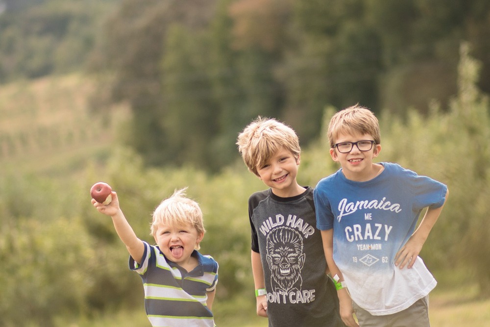 The Three Bissonnette Boys