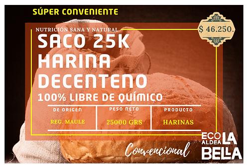 Saco 25k Harina de Centeno