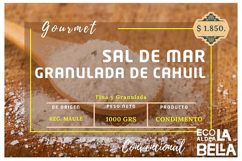 Sal de mar de Cahuil 1000gramos