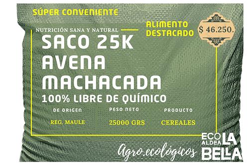 Saco 25k Avena Machacada