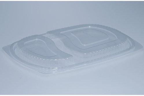 Deckel PP, transparent, 400 Stk. 25.8x18.3 cm, 2-teilig (DOM)