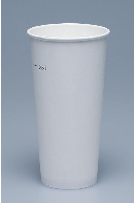 Trinkbecher Karton, weiss, 1000 Stk., 5dl