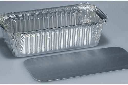 Kartondeckel Aluminium, silber, 500 Stk.