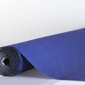 Tischtuchrollen,Kraft,Damast, 100cm x 50m, blau