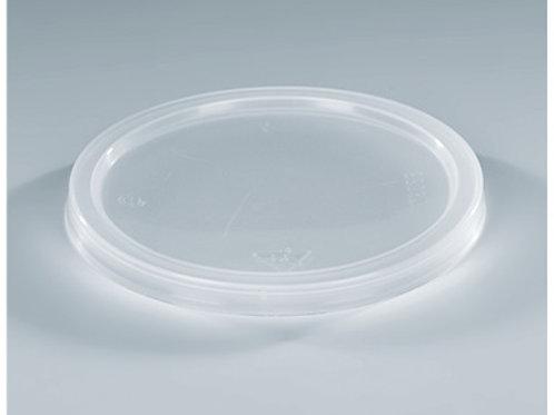 Deckel zu Sputumbecher PE, transparent, 1000 Stk.