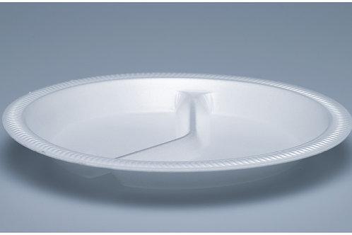 Isolierteller EPS, weiss, 600 Stk. 26 cm, 2-teilig