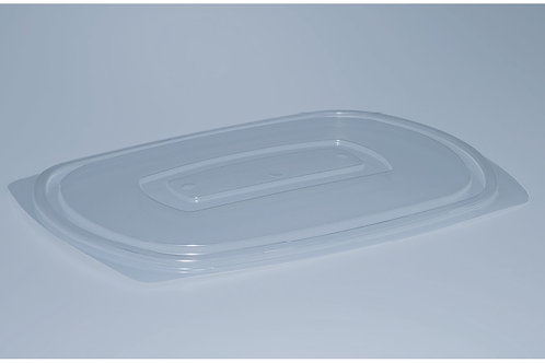 Deckel PP, transparent, 400 Stk. 24x15.5 cm