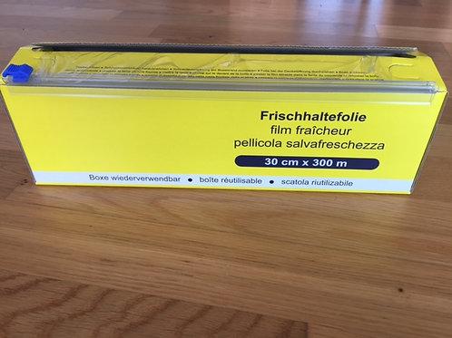 Frischhaltefolie PVC 30cm breit,in Spenderbox