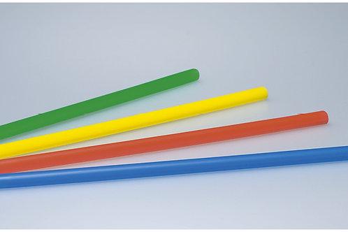 Trinkhalme farbig assortiert, 8 mm, 25 cm, 6000 Stk.