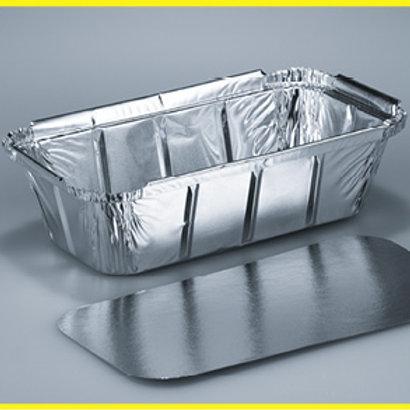 Schale Aluminium, silber, 500 Stk. 20.1x10.9 cm