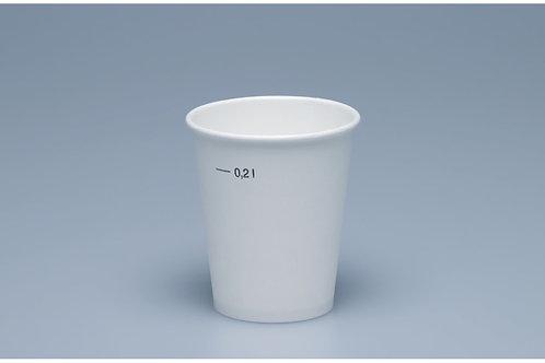 Kaffeebecher Karton, weiss, 1500 Stk. 2dl