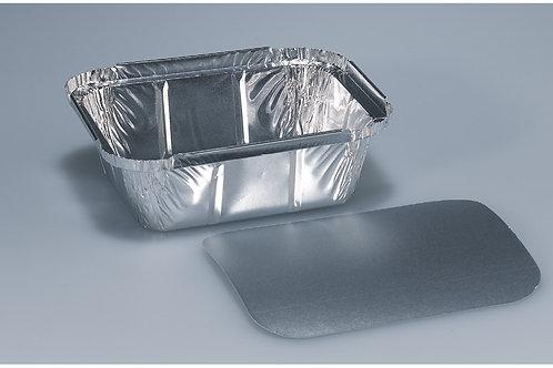 Schale Aluminium, silber, 1000 Stk. 14.4x12 cm