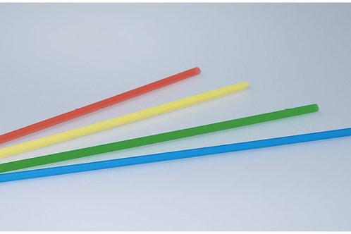 Trinkhalme farbig assortiert, 4mm, 27 cm, 20000 Stk.