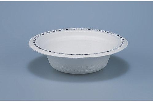 Chinetteller Zellulose, weiss mit Druck, 800 Stk. 14 cm