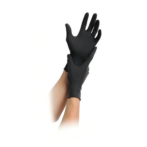 Latexhandschuhe Diabolo,schwarz,ungepudert, 1000 Stk. Gr.XL