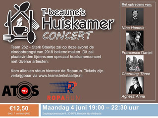 New gigs coming! Like this one for a good cause: Roparun on the 4th of June.
