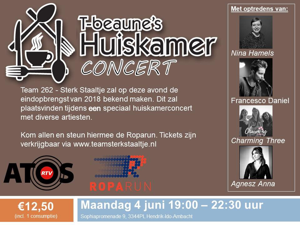 Like this one for the good cause Roparun on the 4th of June.