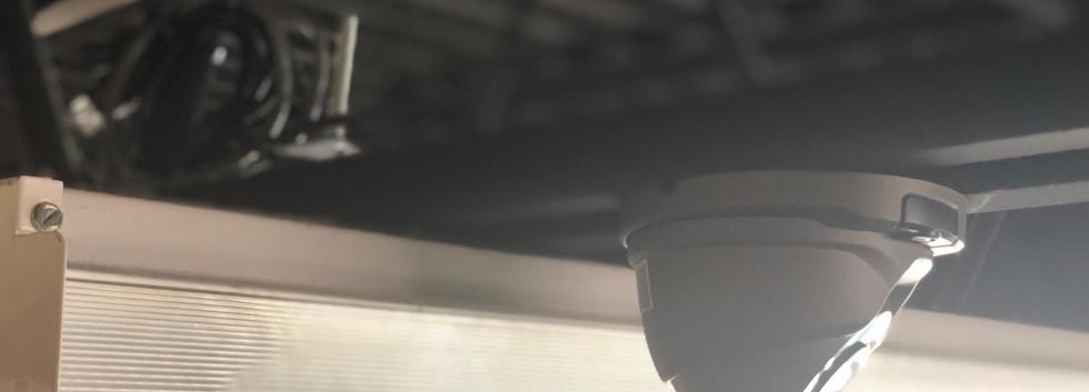 4MP Black Dome Camera - Front Doors