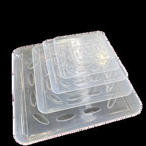Square Plastic Saucer