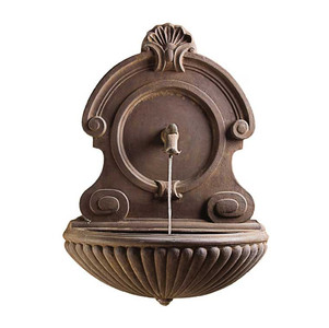 P6445 Oeil de Boeuf Wall Fountain with Lincoln Spout