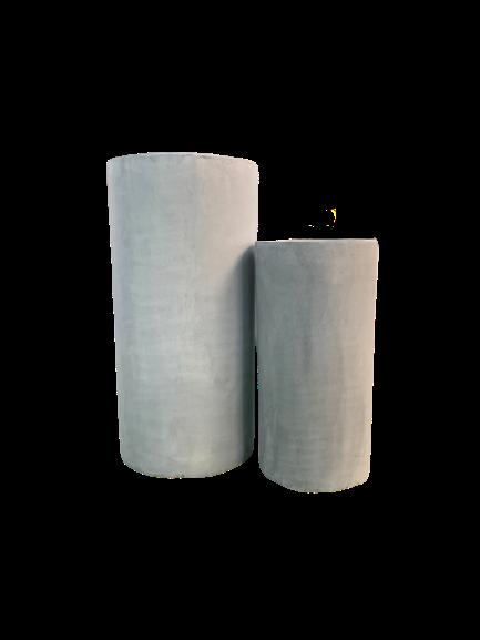 AP656 Cigar Cylinder Grey