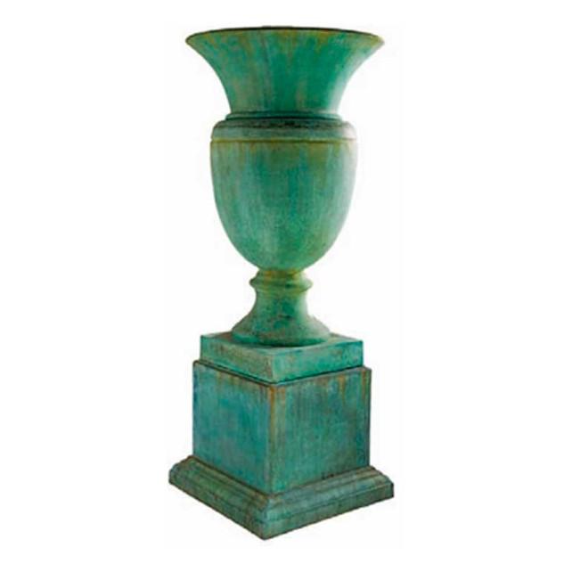 P6210 Lyonnais Urn & Plinth Large