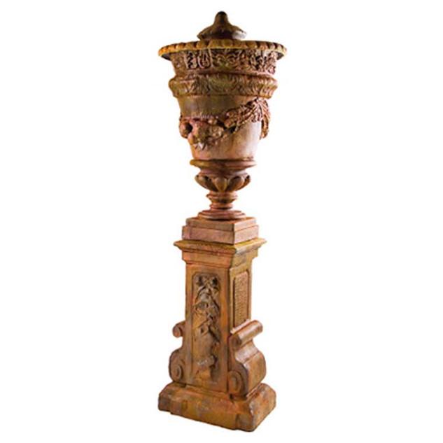 P6252 Montenegro Large Urn & Plinth
