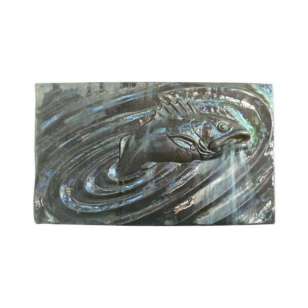 P6842 One Fish Wall Plaque Spout
