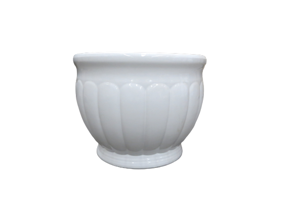 J1715WH Kew Planter White