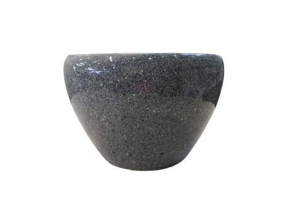 JAP01GD Cara Planter Grey Dot