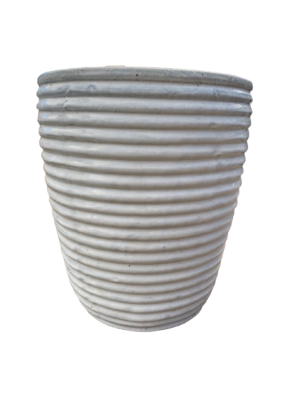 Y9083WH Tall Ripple Cone