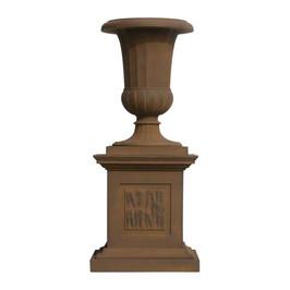 P6227 Fluted Bell Urn & Plinth