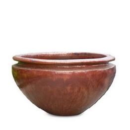 3284 Large Full Glazed Bowl