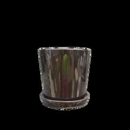 NR210BK Florist Pot and Saucer