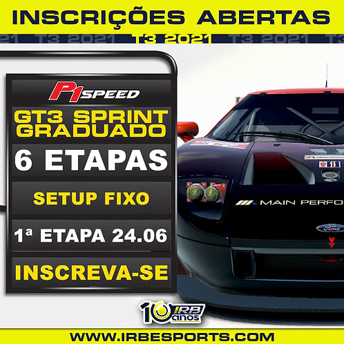 P1 Speed GT3 Sprint Graduados