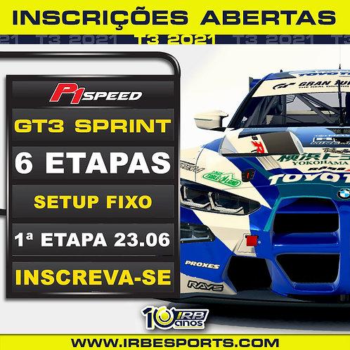 P1 Speed GT3 Sprint Fixo