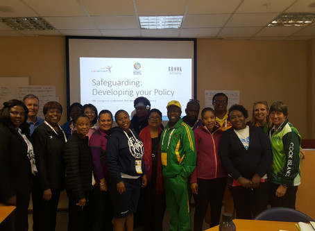 Norman Brook helps National Netball Federations develop their Safeguarding Policies