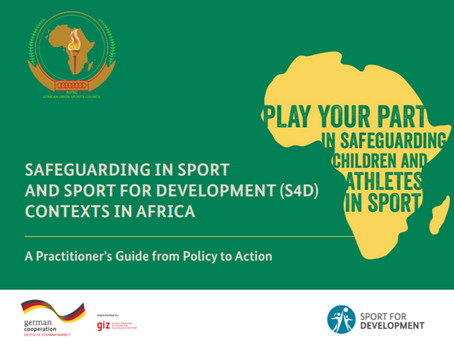African Union Sport Council and GIZ S4DA launch new practitioner's guide to help safeguard children