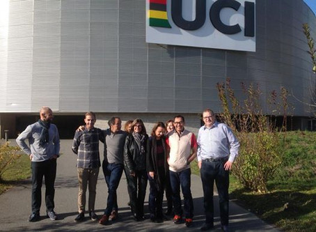 Brook Sport Consulting conduct a successful tutor training course for the UCI in Aigle, Switzerland