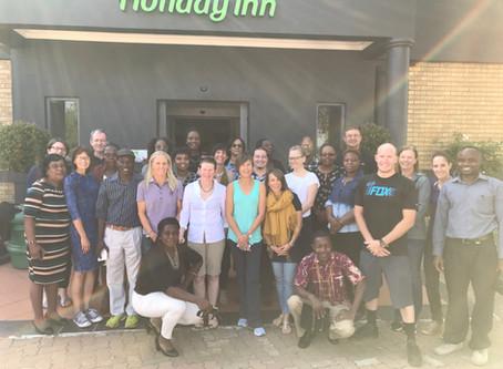 Norman Brook participates in Safeguarding Children in Sport workshop in Johannesburg.