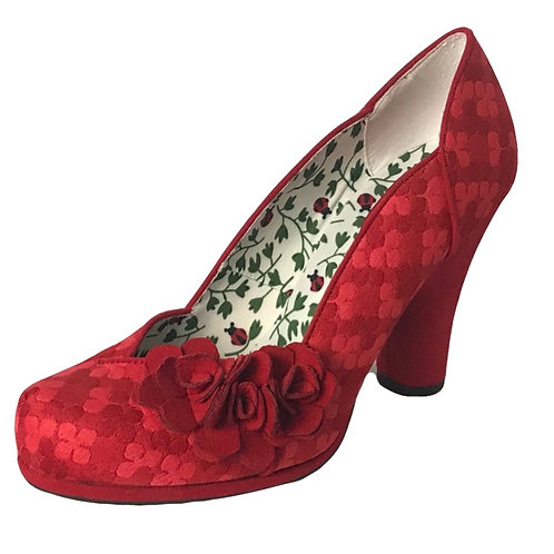 Ruby Shoo Charlotte Red Heel