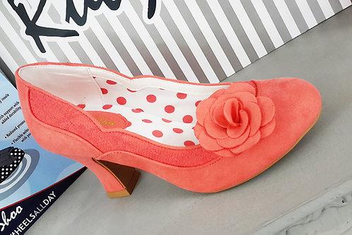 Chrissie Shoe Peach Shoe