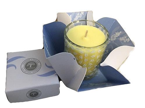 Wild Olive Luxury Glass Candle - Happiness Sweet Orange