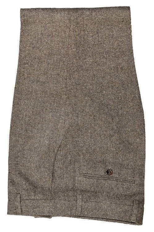 Cavani Martez Brown Tweed Trousers