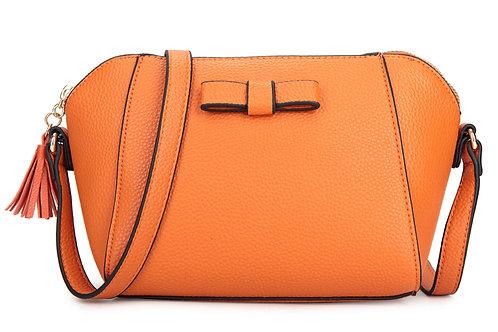 Women's Bow Tassle Handbag 7589